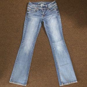 American Eagle Super Stretch Kick Boot Jeans